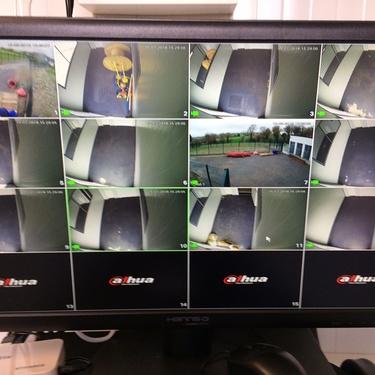 Installation d''un système de Vidéosurveillance