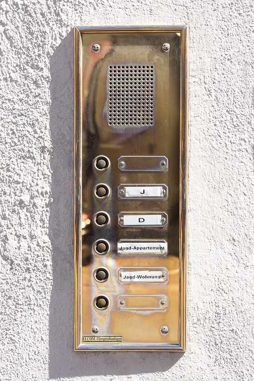 Fourniture et pose d''une platine interphone à Binic (22) 0